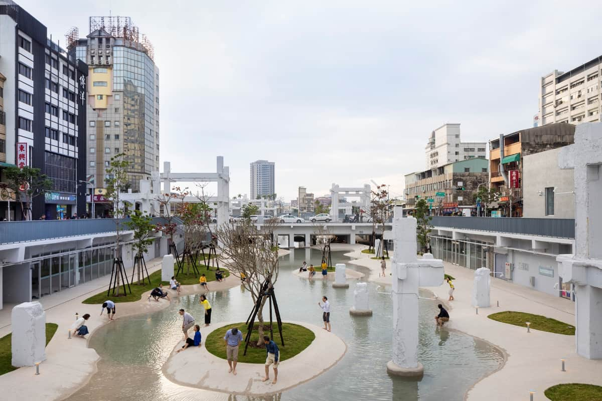 Tainan Spring, Taiwan, Tainan; MVRDV  <br>  photographs: Aplus Digital Technology Co., Ltd